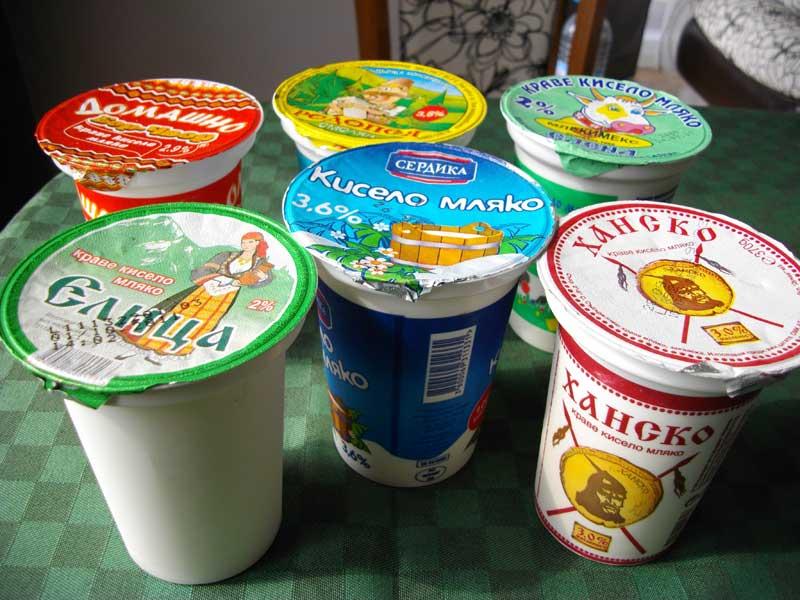кисело мляко, топ 10 лучших продуктов Болгарии