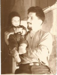 B-Karganov-Georgyi-with-son-Vladislav--before-1941